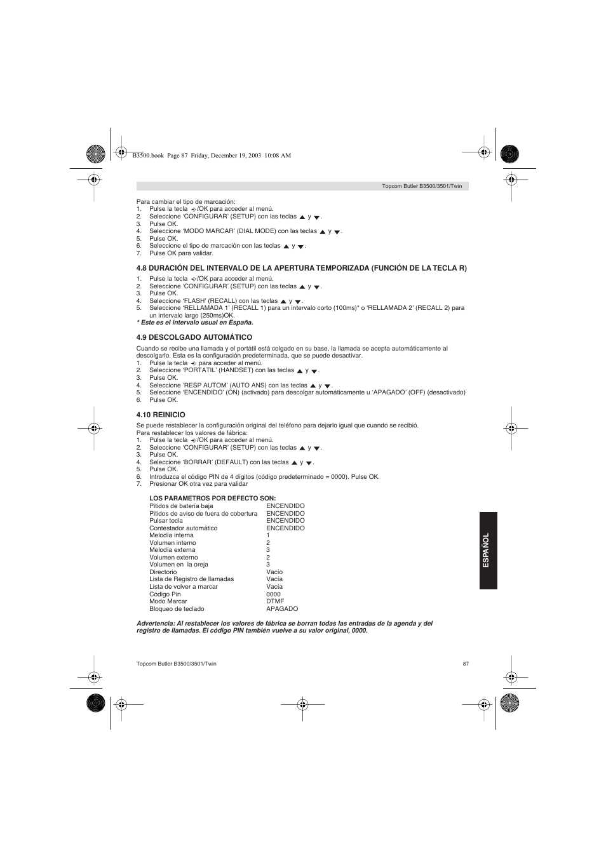 topcom butler 3500 user manual page 87 96 original mode rh manualsdir com Shoot in Manual Mode Manual Mode Cheat Sheet