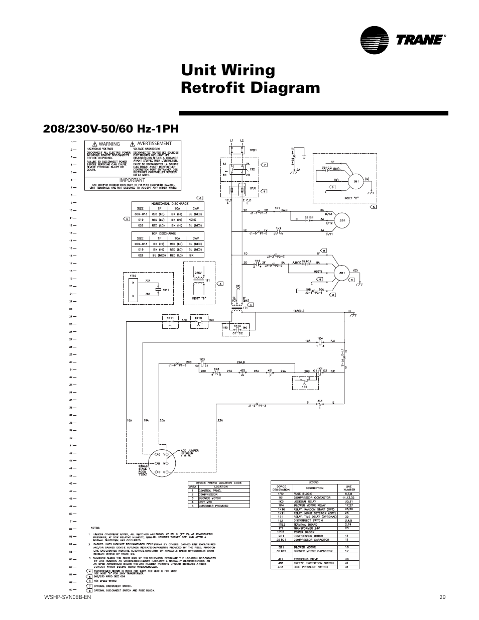 Wiring Diagrams  Unit Wiring Retrofit Diagram  Wshp