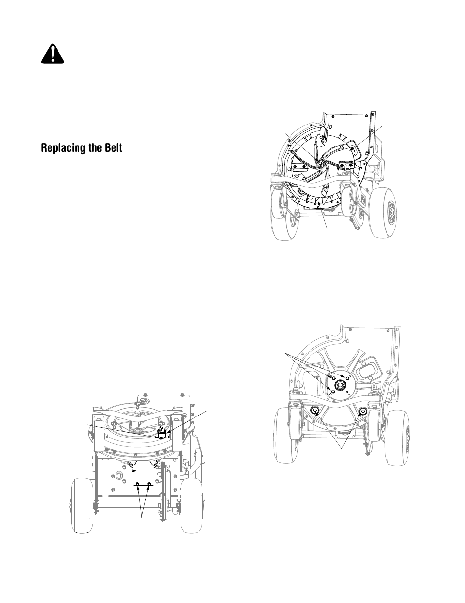 Replacing The Belt Troy Bilt Csv206 User Manual Page 11 14