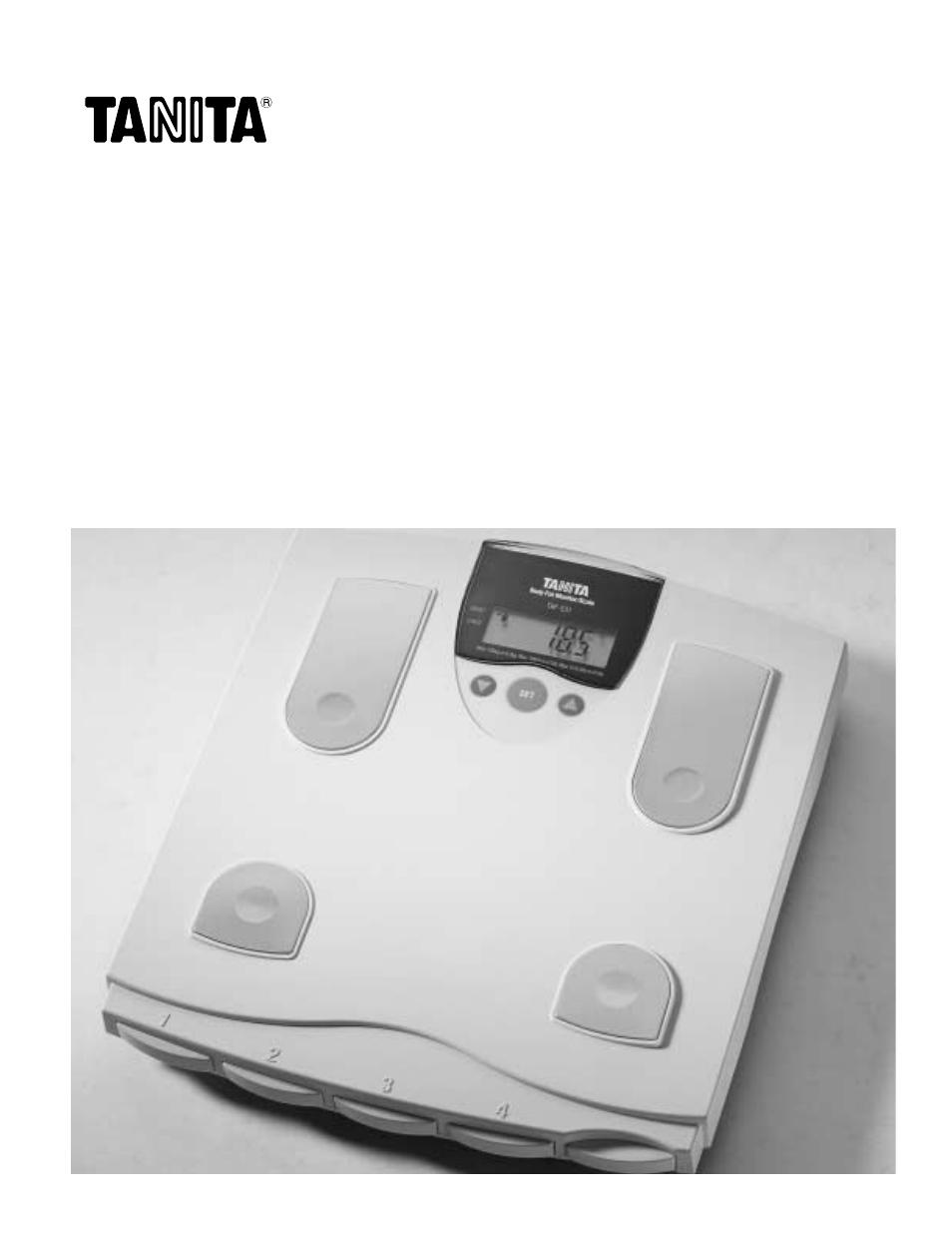 tanita tbf 531 user manual 13 pages rh manualsdir com
