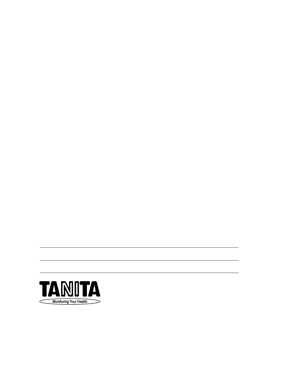 tanita products limited warranty not valid without proof of rh manualsdir com