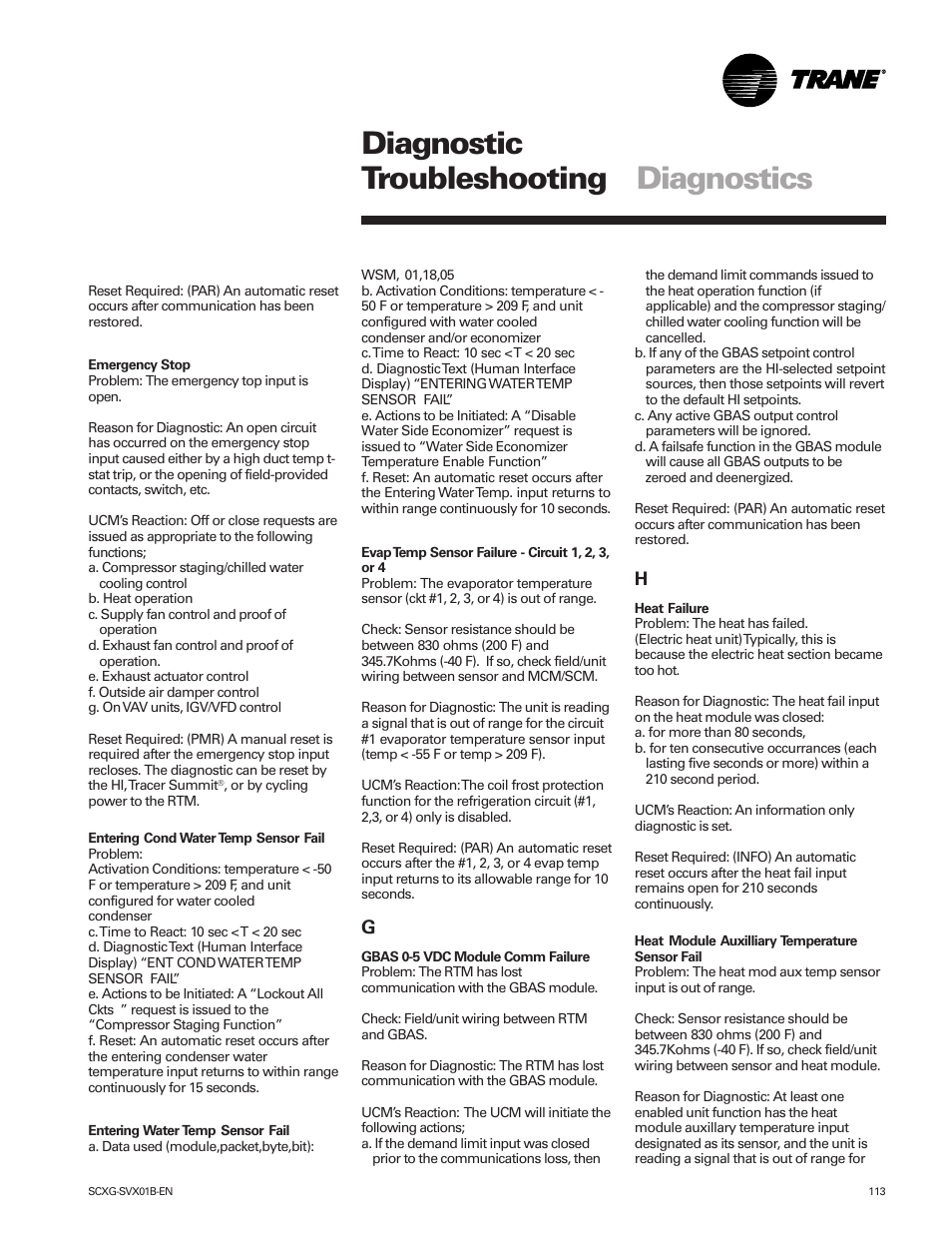 diagnostic troubleshooting diagnostics trane intellipak scwg 020 rh manualsdir com DSM 4 Online DSM to the Scientific Basis