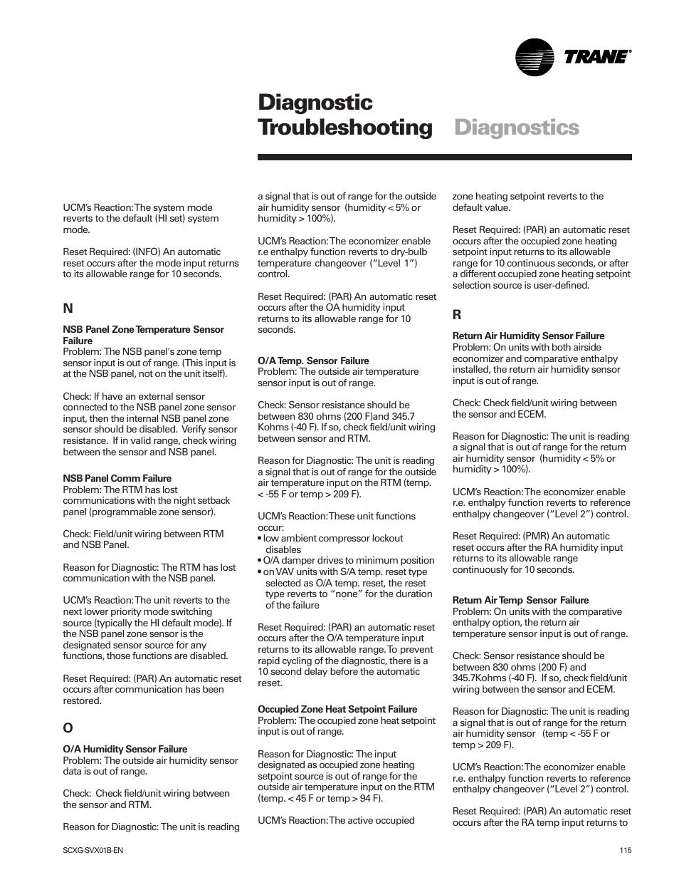 diagnostic troubleshooting diagnostics trane intellipak scwg 020 rh manualsdir com DSM-5 Hardcover DSM to the Scientific Basis