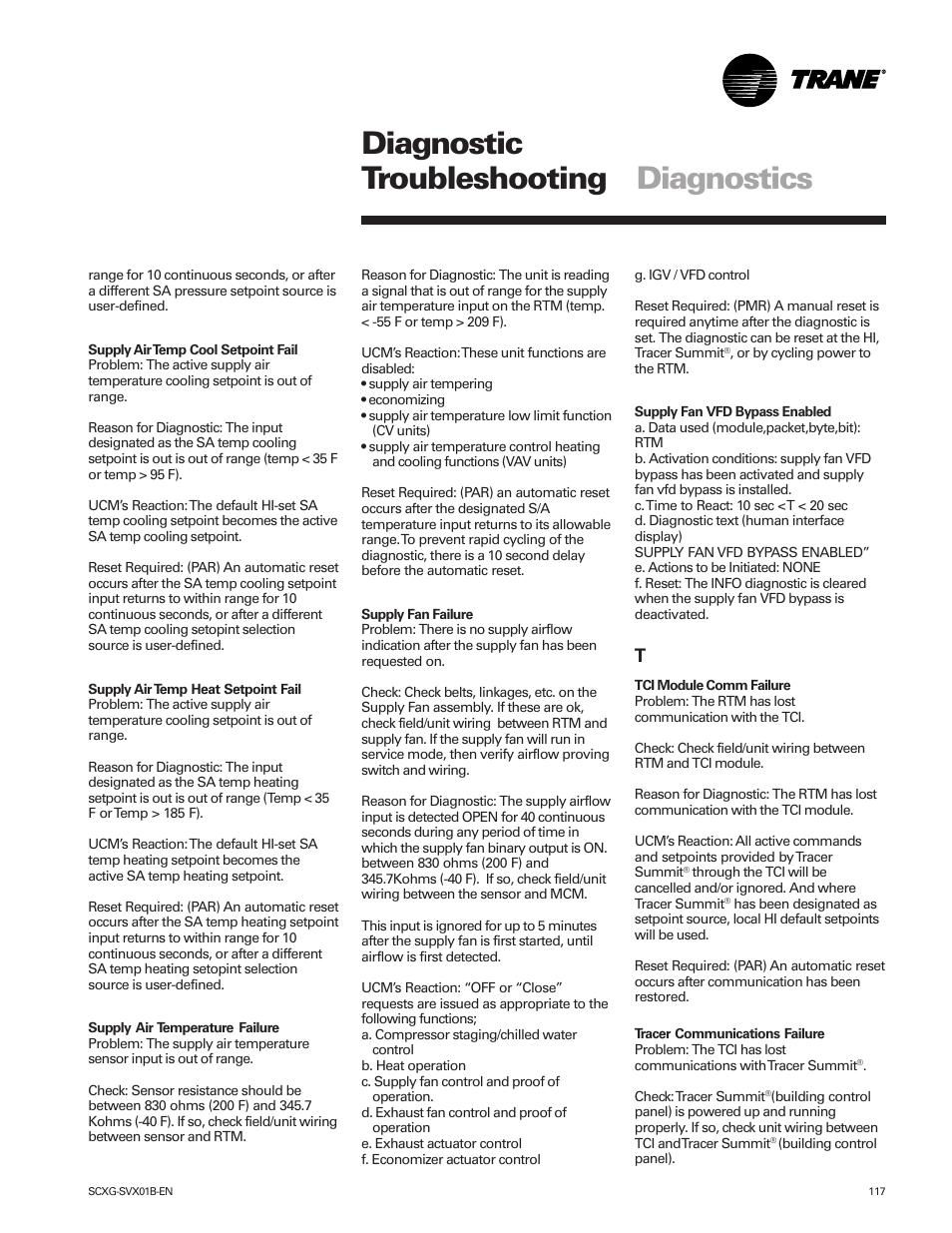 diagnostic troubleshooting diagnostics trane intellipak scwg 020 rh manualsdir com Psychiatric Diagnostic Manual Diagnostic Manual Intellectual Disability