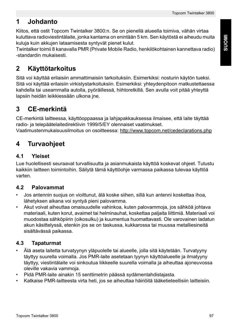 vakavat työtapaturmat suomessa