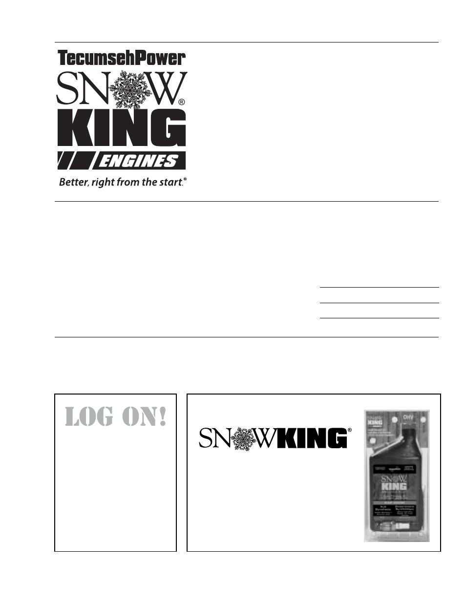 tecumseh oh195sa oh195sp ohsk50 75 user manual 32 pages also rh manualsdir com Snow King Tecumseh Wiring Snow King Tecumseh Wiring