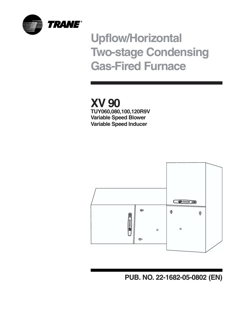 Trane Xv 90 User Manual