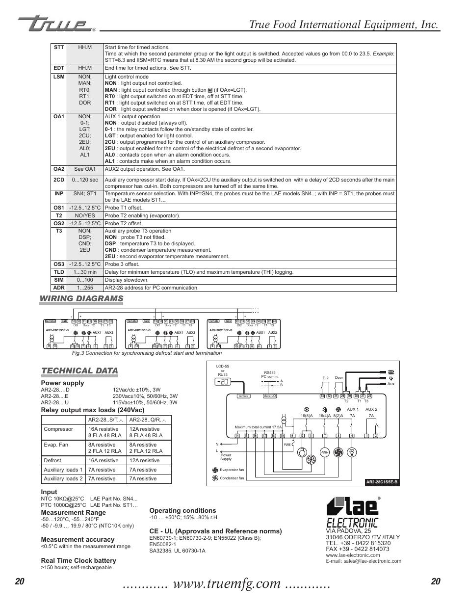 true food international equipment inc ar2 28 instructions for use rh manualsdir com true manufacturing t-23f wiring diagram True Refrigerator Parts Diagram