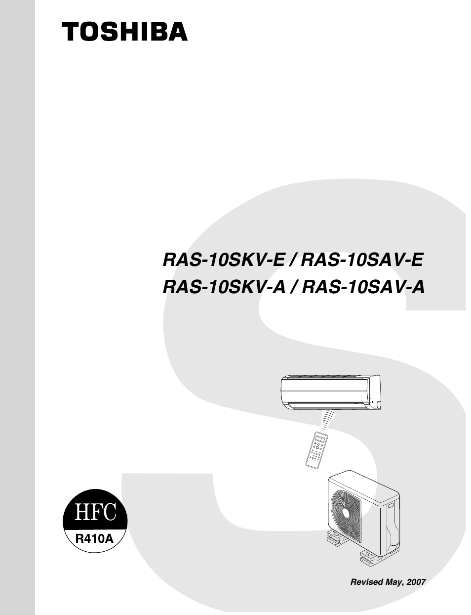toshiba ras 10skv a user manual 94 pages also for ras 10skv e rh manualsdir com GE Air Conditioners Wall Units GE Air Conditioners Wall Units