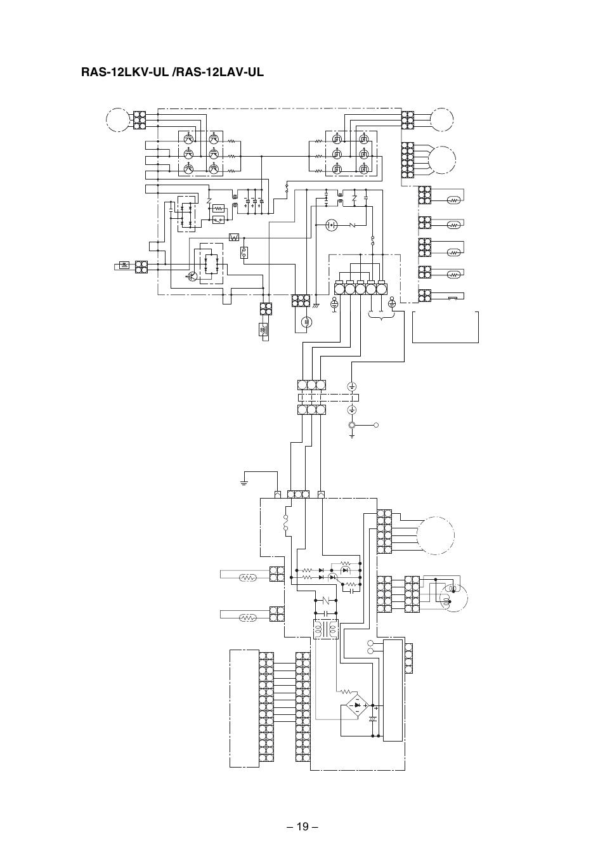 fm pmv  power supply circuit main pc board mcc