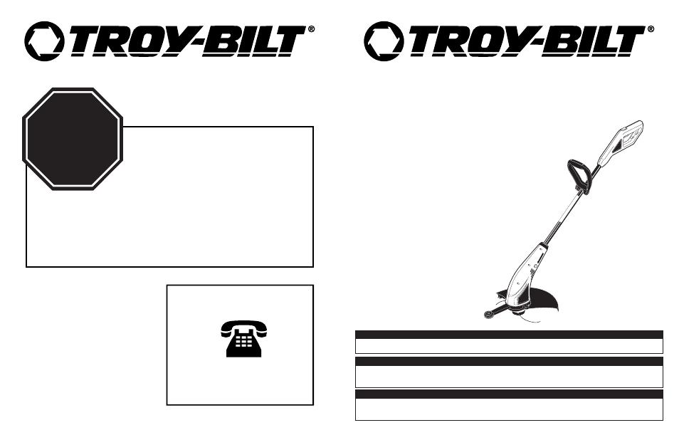 troy bilt tb45e user manual 21 pages rh manualsdir com Troy-Bilt Mower Owners Manual Troy-Bilt TB130 Parts