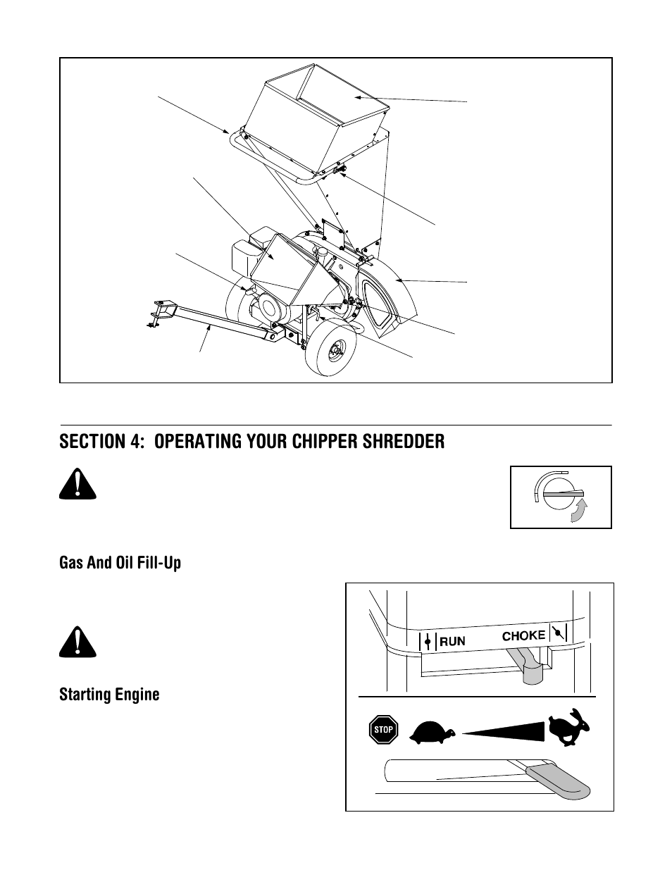 engine manual for troy bilt
