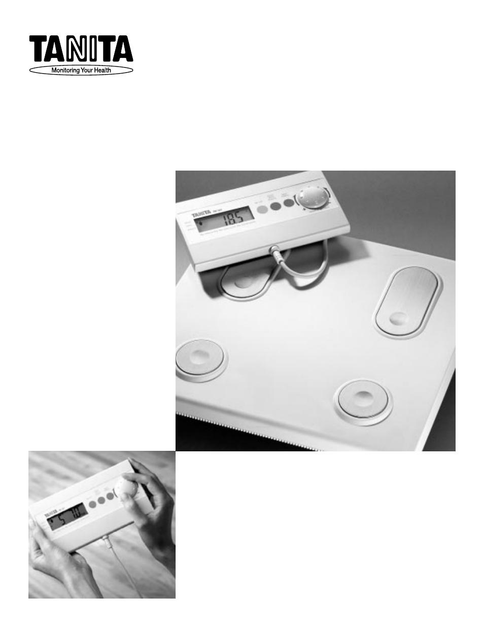tanita tbf 521 user manual 12 pages rh manualsdir com