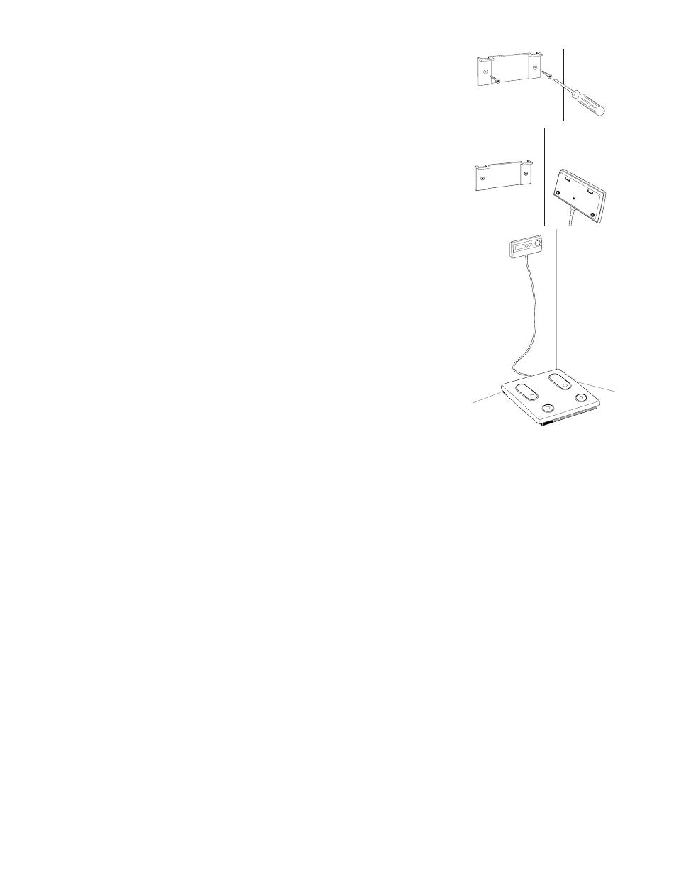 handling tips installing the display box tanita tbf 521 user rh manualsdir com