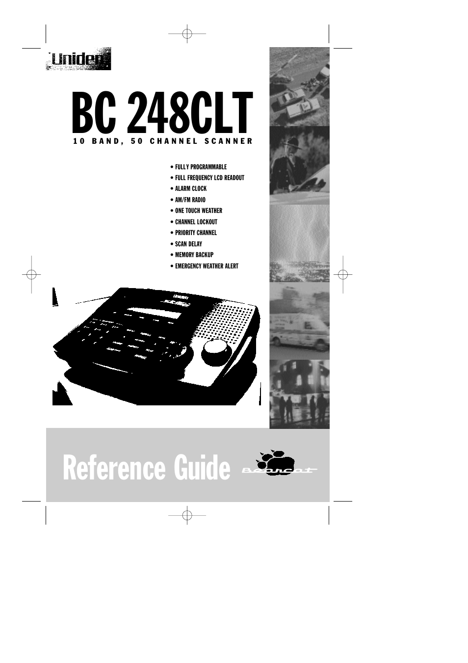 uniden bc248clt user manual 42 pages rh manualsdir com Uniden Digital Answering System Manual Uniden Answering Machine Manual