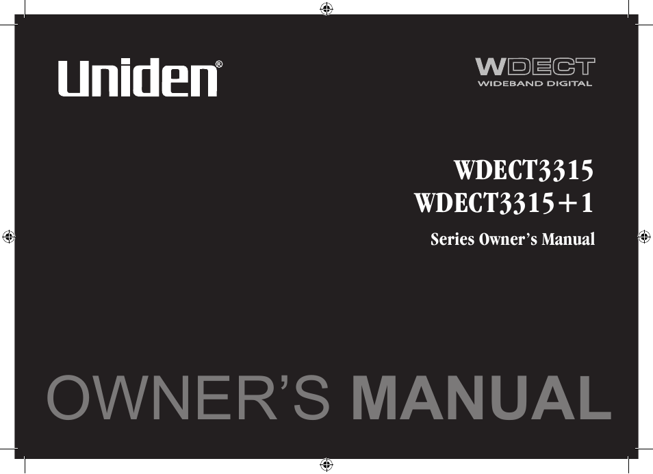uniden wdect 3315 manual how to and user guide instructions u2022 rh lakopacific com