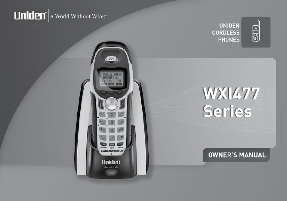 uniden twx977 user manual 68 pages rh manualsdir com Uniden 7 Inch Tablet Manual Uniden Bearcat Scanner Manual