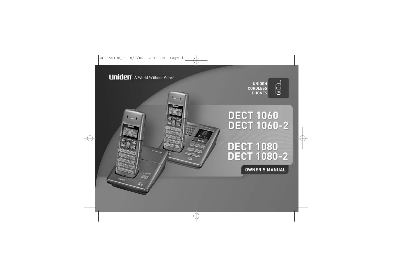 uniden dect1080 user manual 56 pages also for dect1080 2 rh manualsdir com uniden dect1580 manuel Uniden ELT560 Cell Phone Home