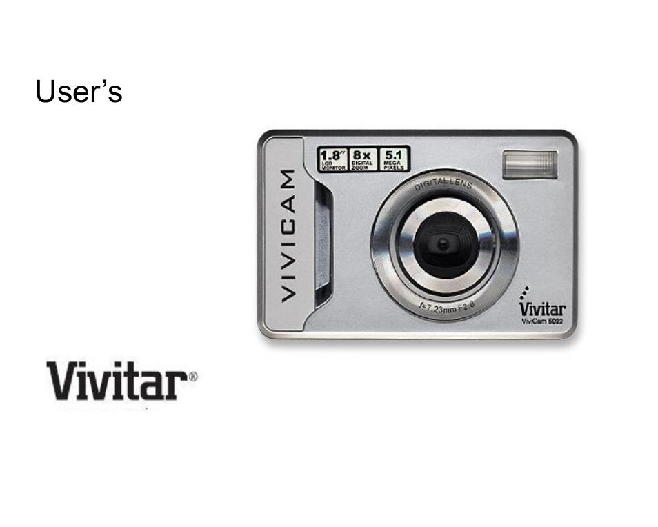 vivitar vivicam 5022 user manual 29 pages rh manualsdir com Vivitar ViviCam Instruction Manual Vivitar ViviCam Instruction Manual