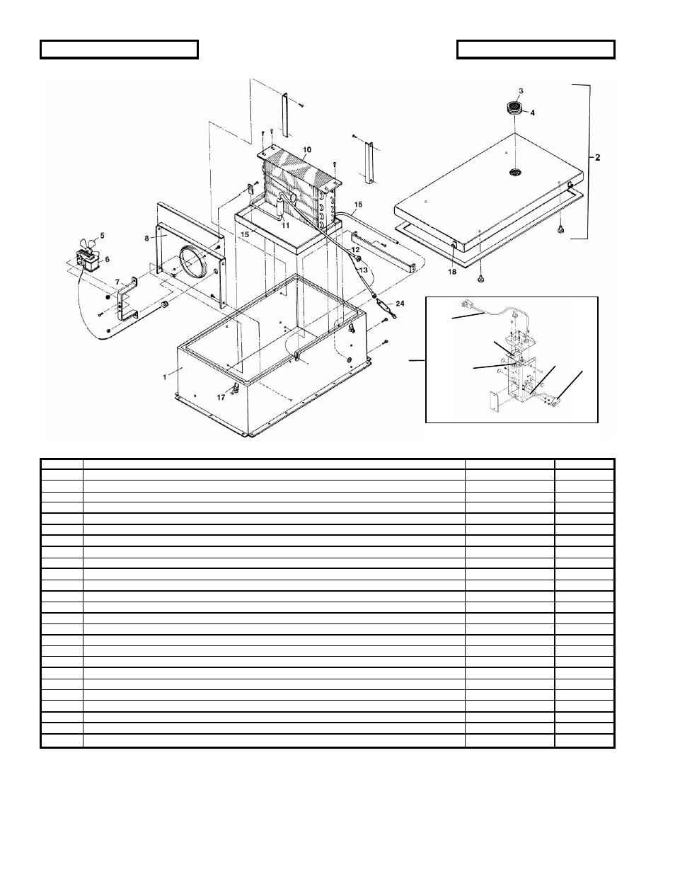 whirlpool refrigerator wiring schematic figure 6-3 one section refrigerator components, electrical ...