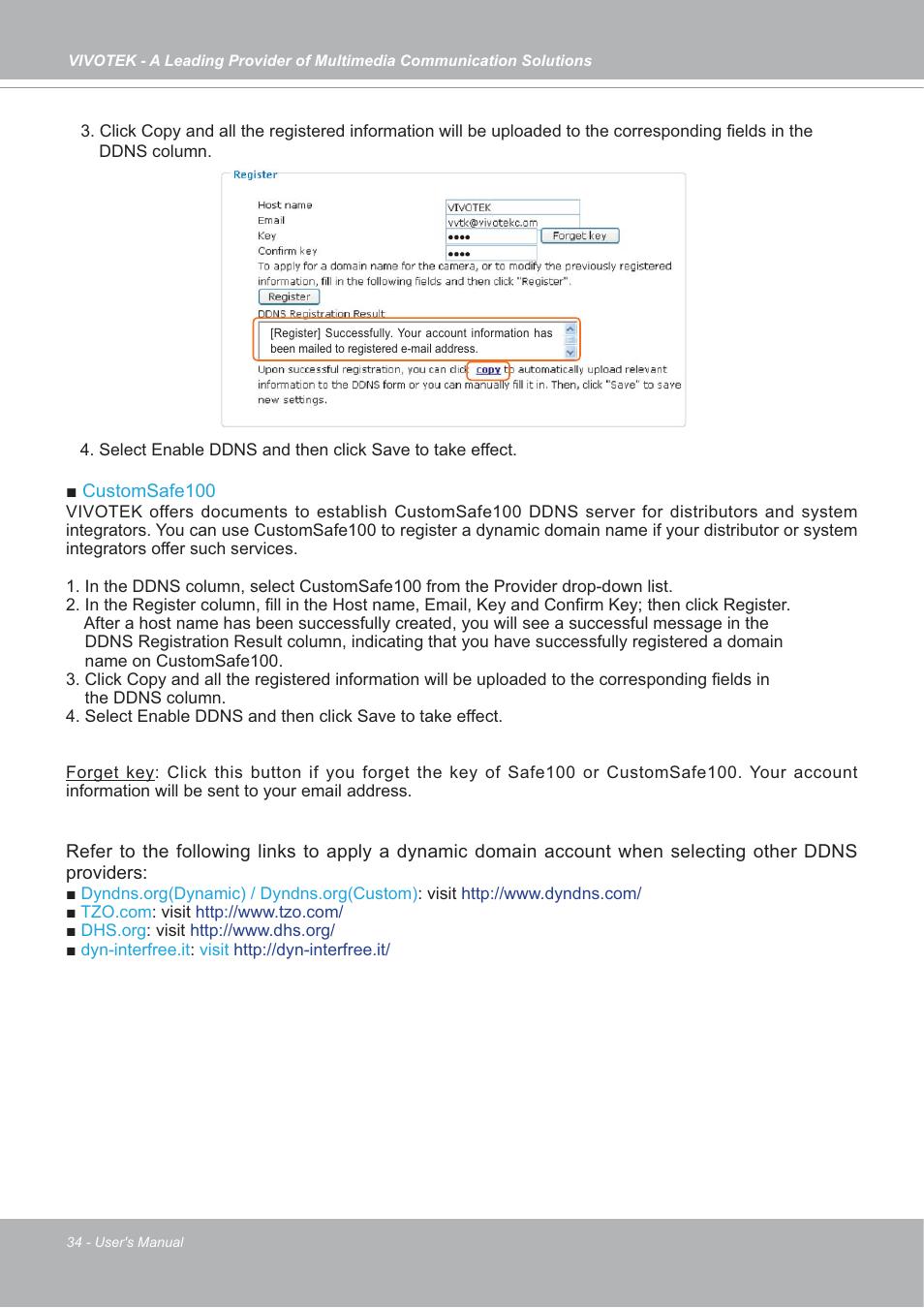 Vivotek IP7133/IP7134 User Manual | Page 34 / 87