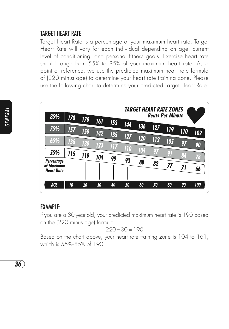 Vision Fitness X6600hrt User Manual Page 40 52