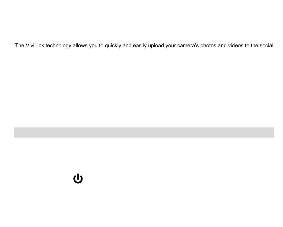using your digital camera setting the vivilink default option rh manualsdir com Vivitar DVR 430 HD Battery Vivitar DVR 430 HD Battery