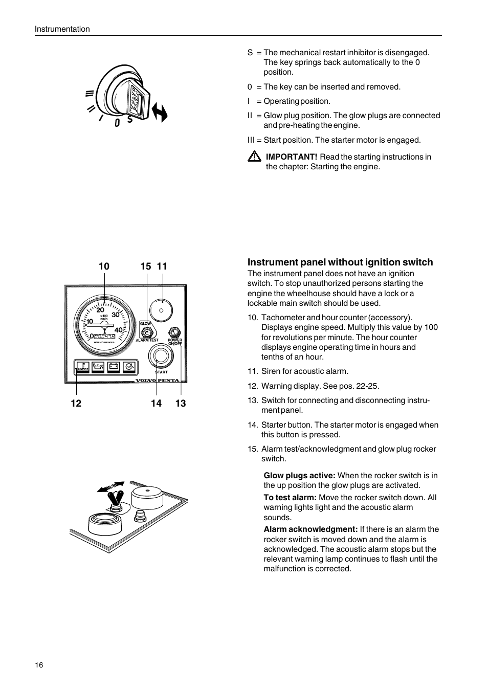 Volvo Penta D2-75 User Manual | Page 18 / 68 | Also for