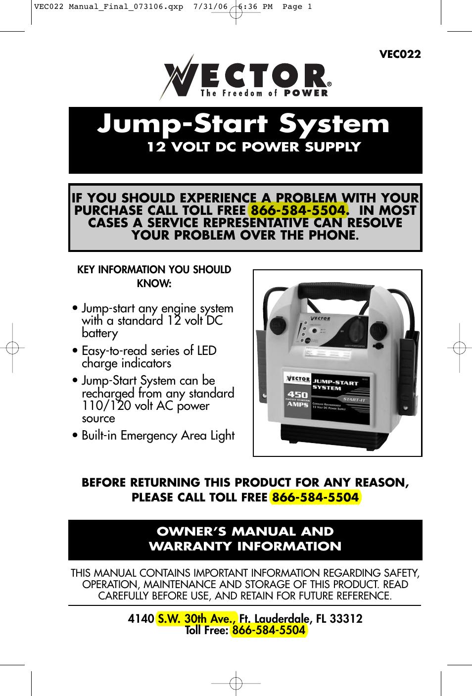 vector vec022 user manual 15 pages rh manualsdir com Jump Manual Workout Chart Jump Manual PDF