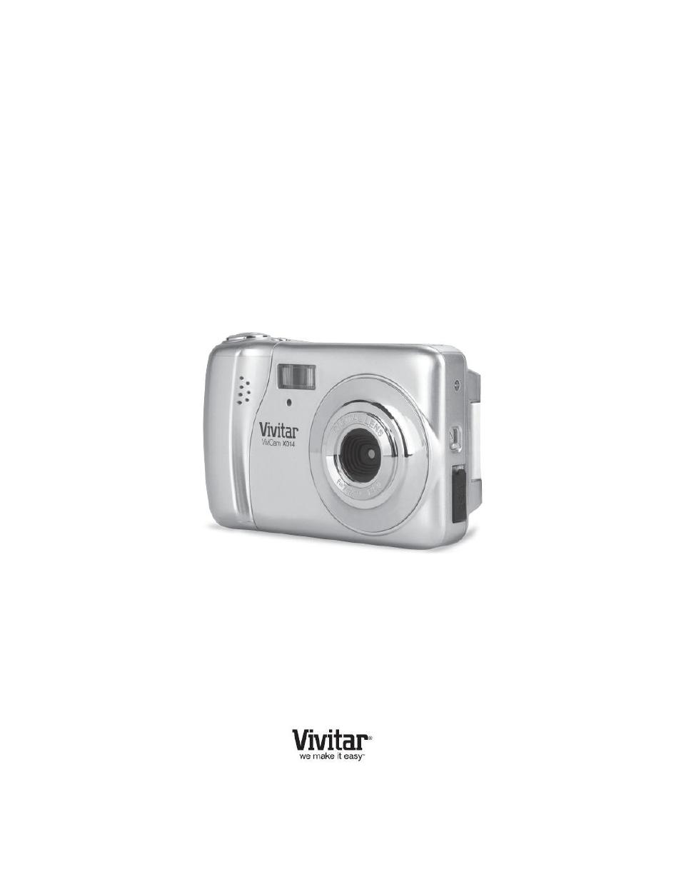 vivitar vivicam x014 user manual 56 pages rh manualsdir com Vivitar Camera Manual Vivitar Drone Manual