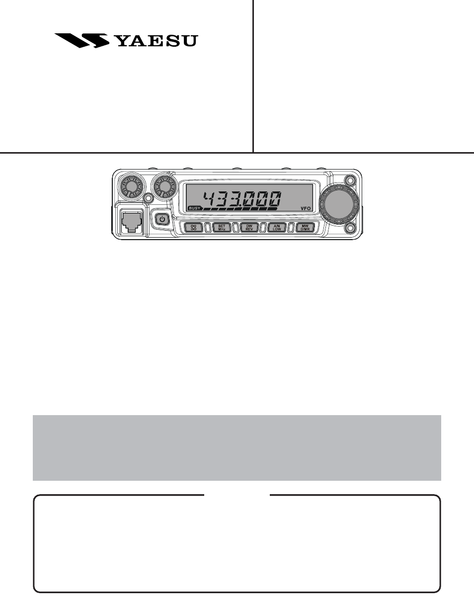 Vertex Standard Ft 1807m User Manual 34 Pages Schematics And Layouts
