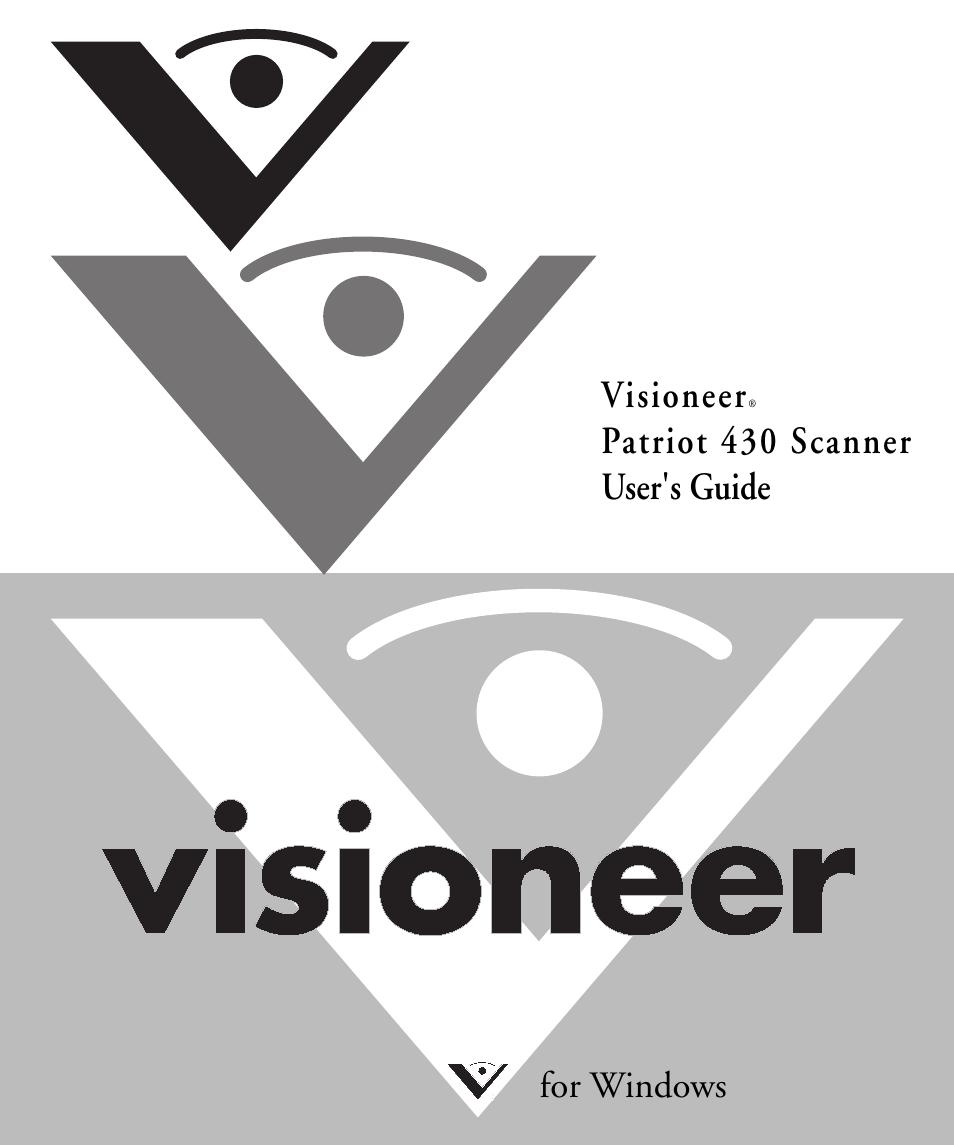 VISIONEER PATRIOT 430 DRIVER DOWNLOAD