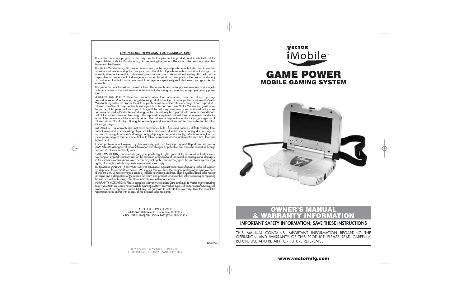 Vector imobile vec401 user manual 8 pages publicscrutiny Image collections