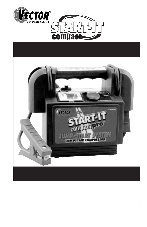 Vector Compact Pro Vec020c User Manual 12 Pages Air Compressor Schematic