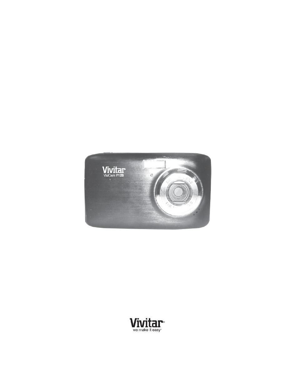 vivitar vivicam f128 user manual 66 pages rh manualsdir com vivitar aquashot underwater digital camera manual vivitar mini digital camera manual