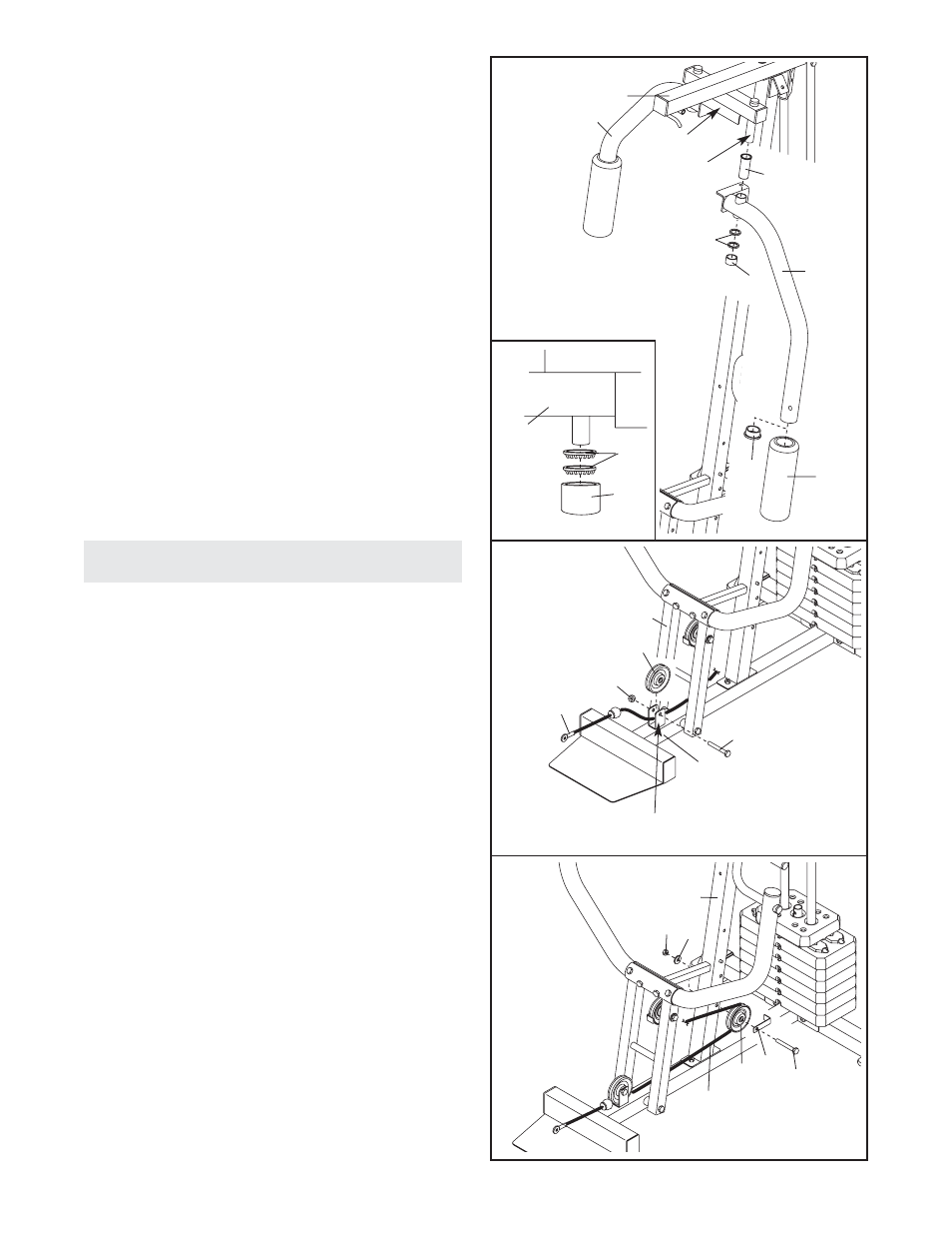 cable assembly weider pro 2250 user manual page 8 24 rh manualsdir com Crosman 2250 Nokia 2250
