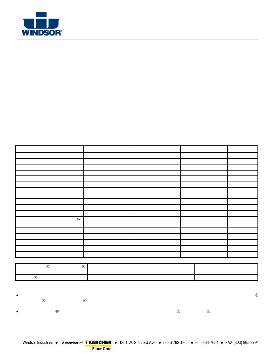 Windsor STORM SP17 User Manual | Page 25 / 26