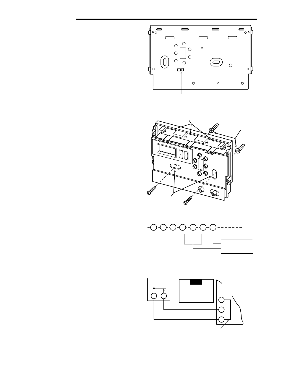 Installation, Remove old thermostat, Attach thermostat base to wall | White  Rodgers 1F86-444 User Manual | Page 2 / 4
