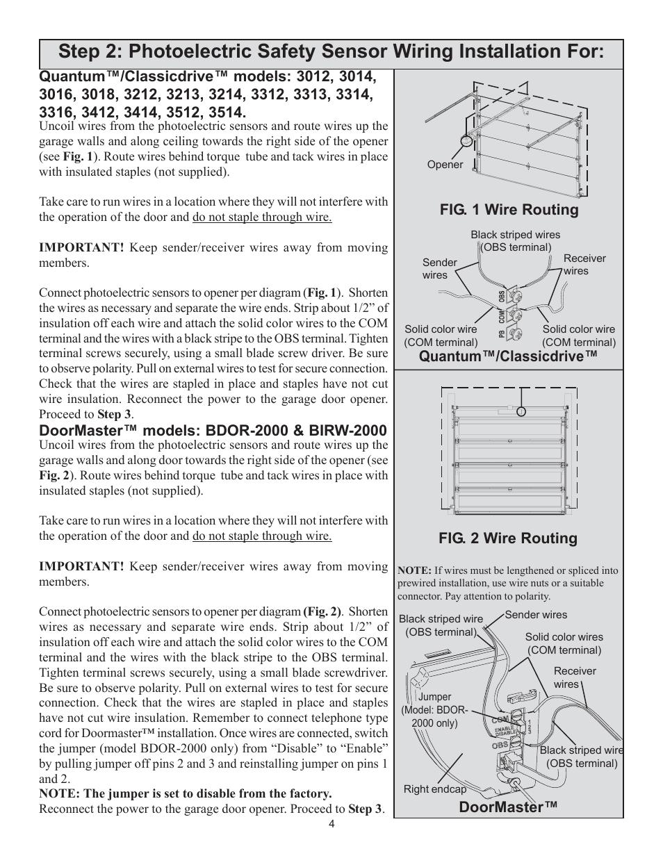 Doormaster Wayne Dalton 3014 User Manual Page 4 7