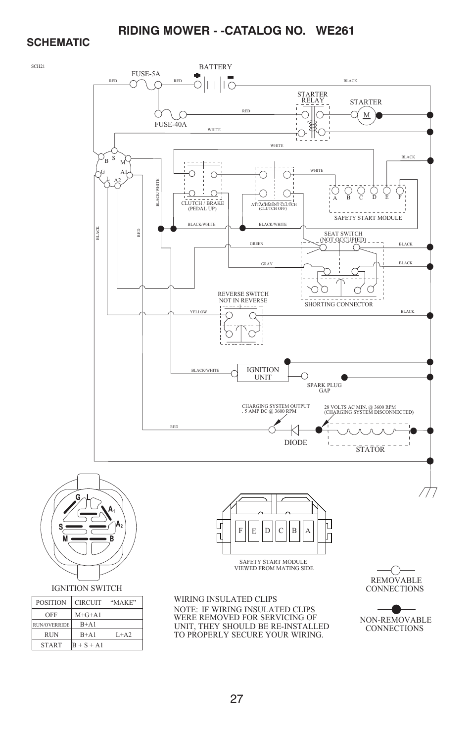Repair Parts  Schematic  Non  40
