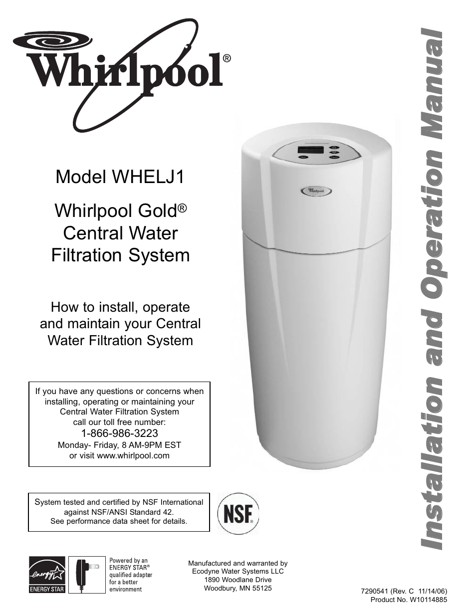 Whirlpool Whelj1 User Manual 27 Pages
