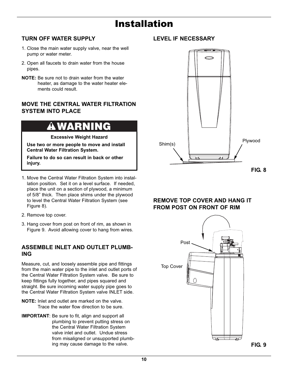 Installation Whirlpool Whelj1 User Manual Page 10 27