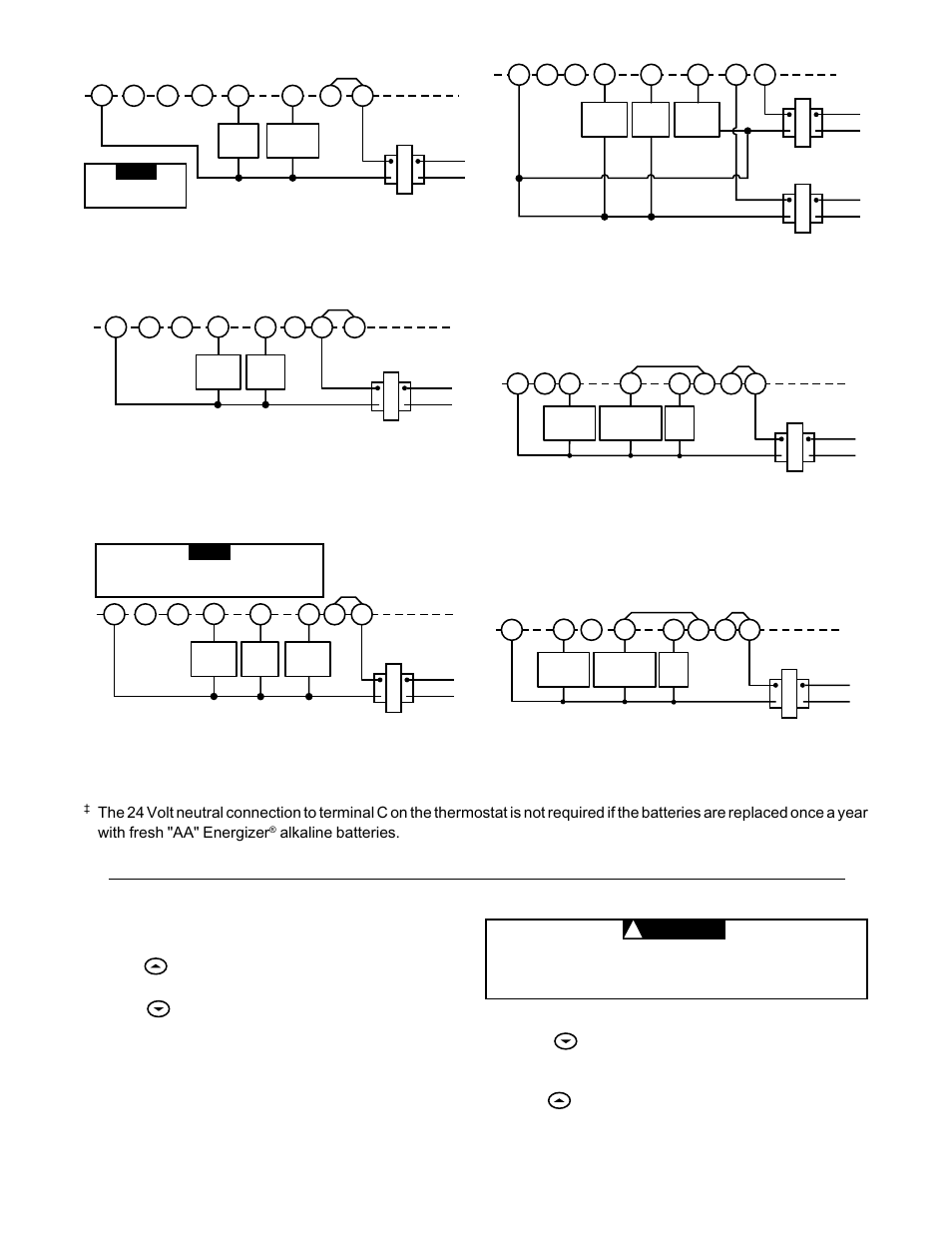 white rodgers 1f86 344 page3 heating system, cooling system, caution white rodgers 1f86 344 white rodgers wiring diagrams at soozxer.org