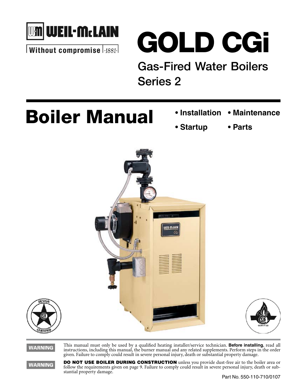 culligan gold series service manual