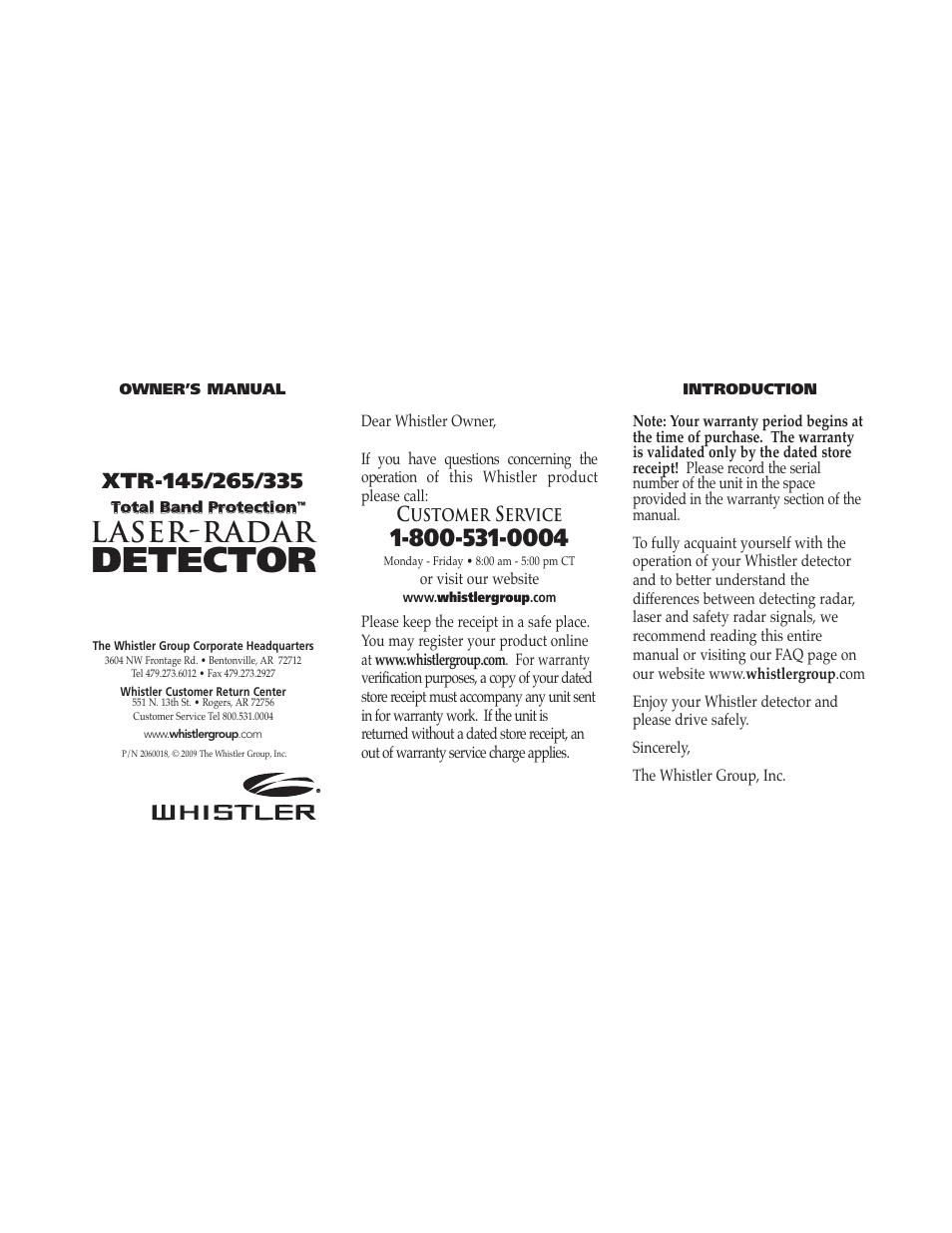 Whistler radar detectors reviews.
