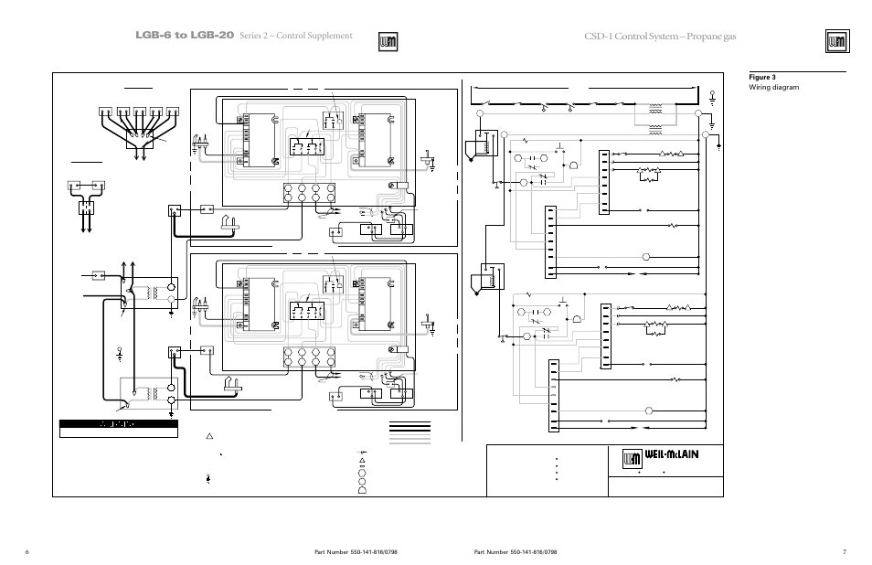 weil mclain lgb 6 20 series page6 lgb 6 to lgb 20, csd 1 control system propane gas, propane gas Steam Boiler Wiring Schematics PDF at fashall.co