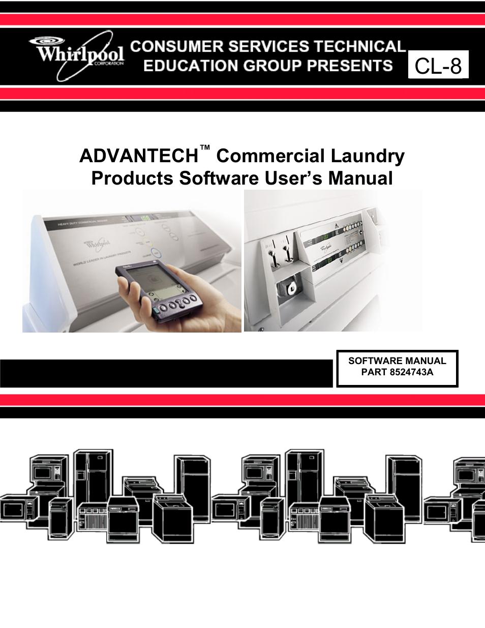whirlpool advantech cl 8 user manual 108 pages rh manualsdir com visonic cl-8 user manual cl-8 manual