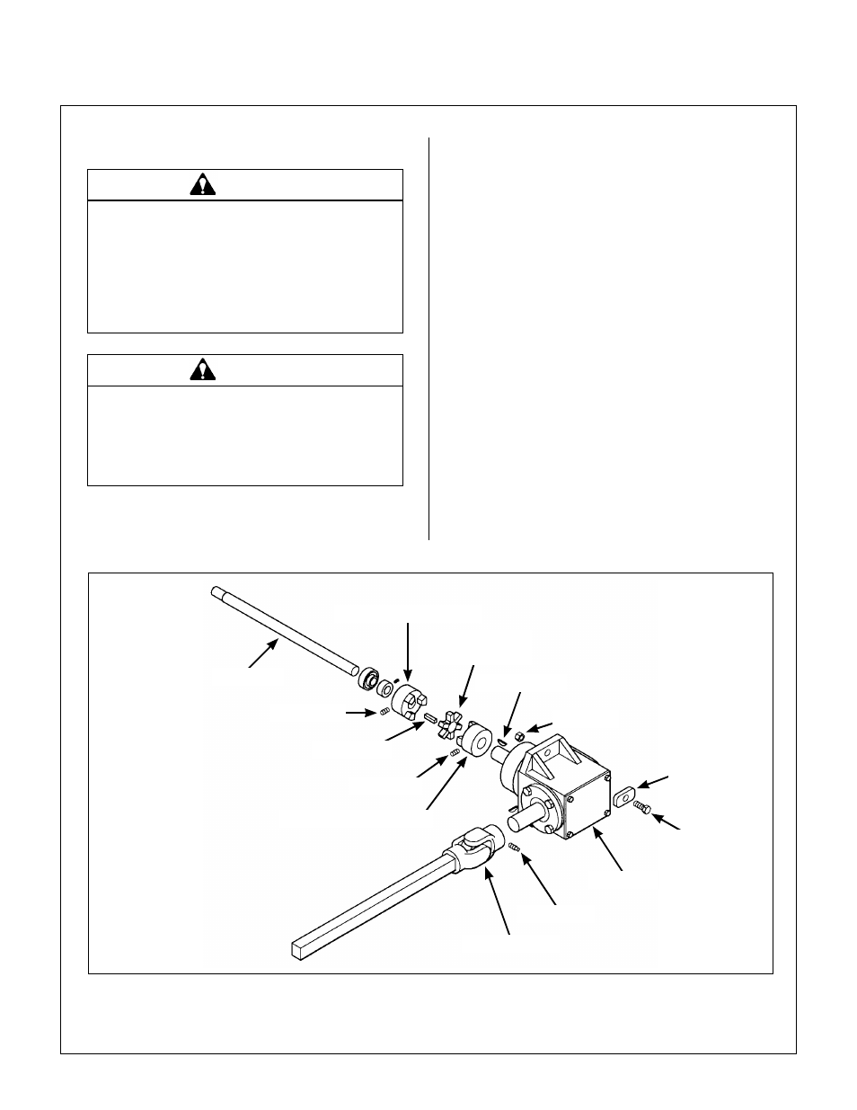 Replacing/repairing, Gearbox replacement, Replace gearbox | Walker