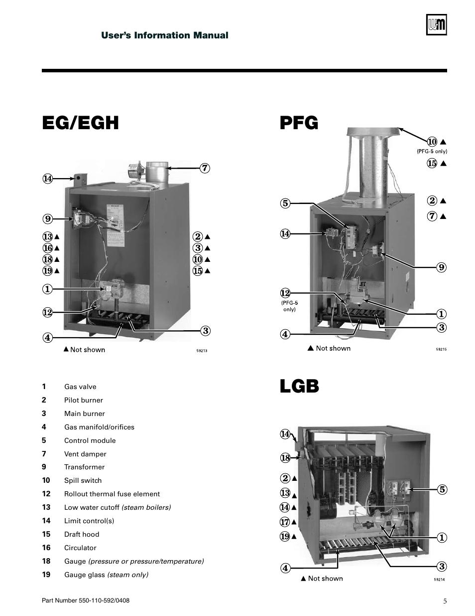 Eg Egh Pfg Lgb Weil Mclain Cga User Manual Page 5 24 Boiler Wiring Diagram