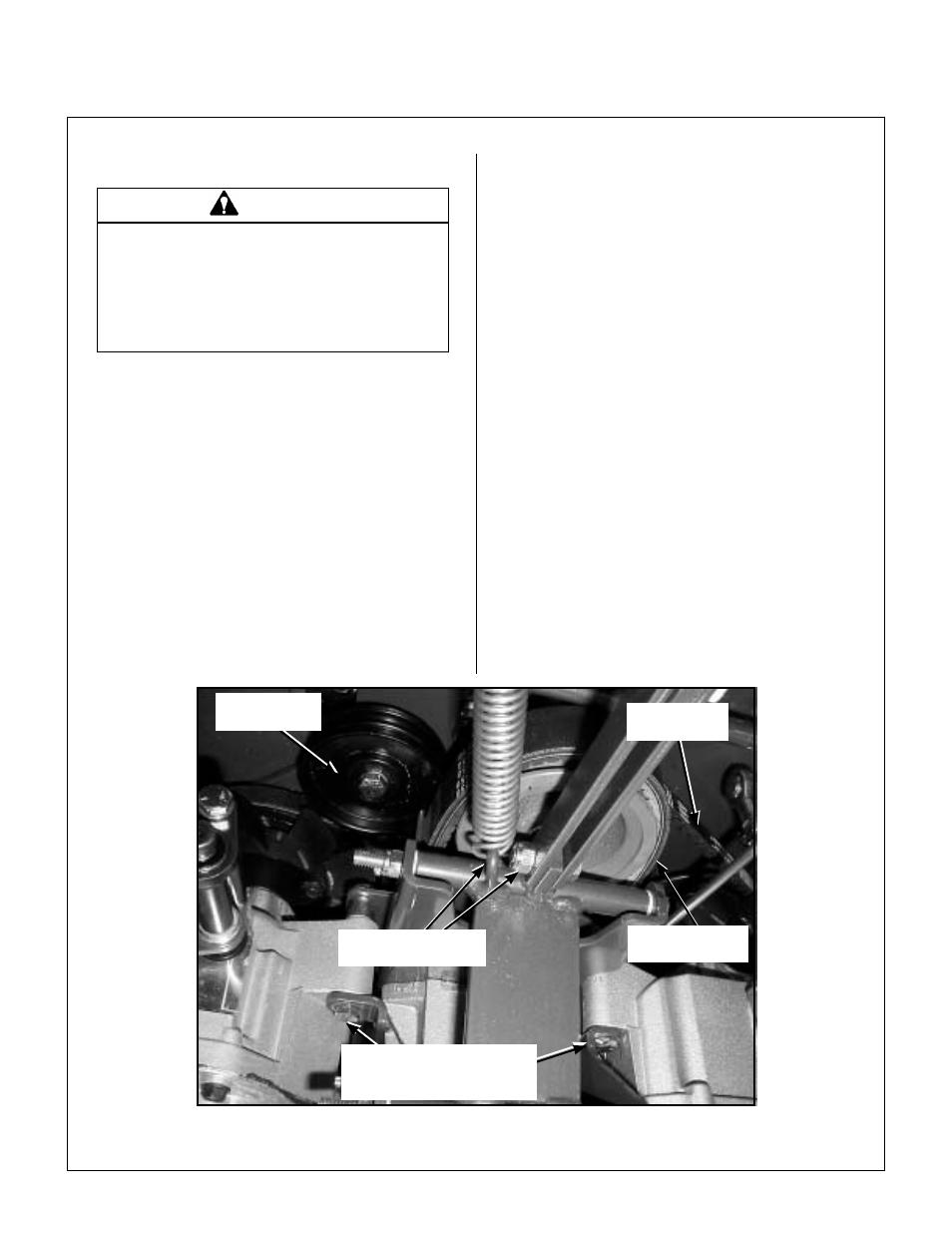 Replacing/repairing, Drive belts, Pto drive belt | Walker MW 15 HP
